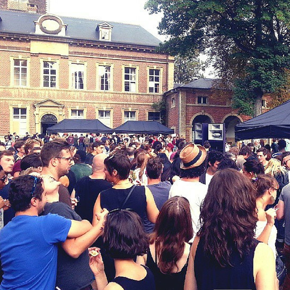 open air party aperos in Brussels