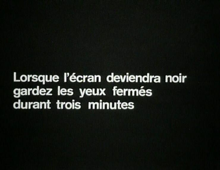 """""""Stimuli pour un cinéma intérieur"""" de Maurice Roquet"""