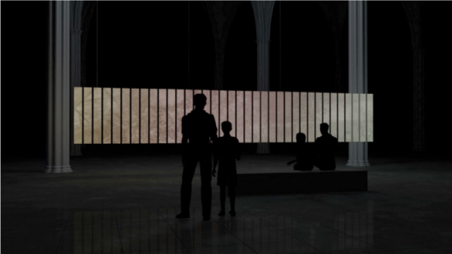 Reaching the Eschaton Installation by Antivj La Vallée November 6 7 8